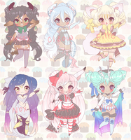 CUSTOM ADOPTABLES CLOSED by Lolisoup