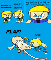 Johnny Test is Nothing but Boring Junk by thekirbykrisis