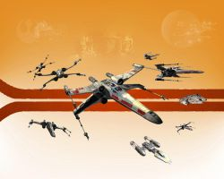 X-wing Version 2 by 1darthvader
