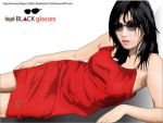 Black Glasses by Club-Vector