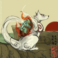 Okami fan work by Rcaptain