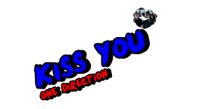 texto png de one direction (kiss you) by arianatoredittions