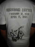 Abe Lincoln Shirt Back by Stencils-by-Chase