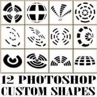 Geometric Abstract Custom Shapes by Brushportal