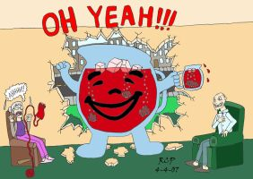 Kool Aid Man - Colored by Rennon-the-Shaved
