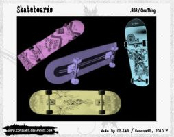 Skateboards Brushes .ABR by conzumir