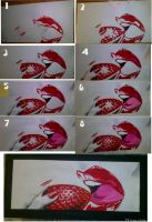 red lips series by FATRATKING
