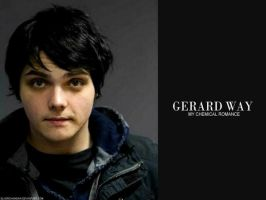 Gerard Way Wallpaper by SilverChainsaw