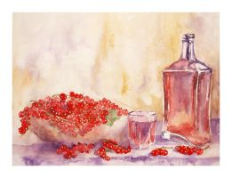 Still life with currants by modliszqa
