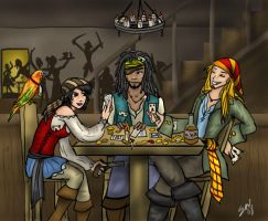 Pirate Poker for Silverglove by Captain-Savvy