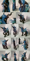 Queen Chrysalis Custom (different viewpoints) by Nevi-Lamina