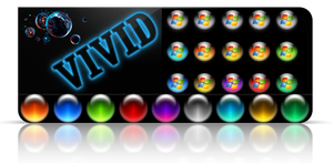 Vivid colors Start Orbs for 7. by Fiazi