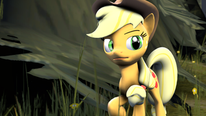 [SFM] AppleJack In the Forest by FD-Daylight