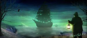 Ghost Pirate Ship by oozkr