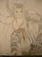 One Winged Angel by Dante-son