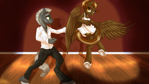 Commission - Dance with Me. by KittehKatBar