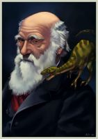 Darwin's Compsognathus by ChateNoire