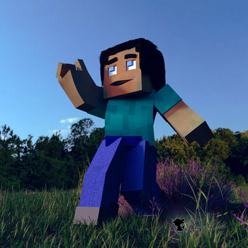 Fancy Feet in the Field - Minecraft Rig by TheDuckCow