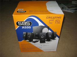 Creative SBS A500 5.1 box by SinanDira
