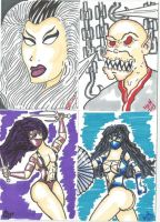 More MK sketch cards by kylemulsow