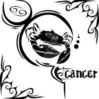 Zodiac Sign Tattoo : Cancer by MPtribe