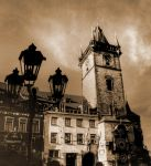 Old Town Hall Tower and Astronomical Clock HDR02 by abelamario