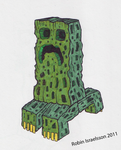 Minecraft Creeper by rubbe