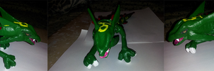 Ceramic Rayquaza by PokeHihi