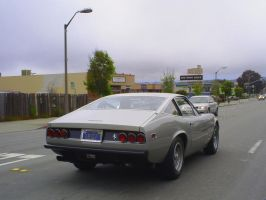 1972 Ferrari 365 GTC rear view by Partywave