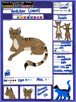 Veldtchasm Reference Sheet 2014 OUTDATED by SonnetKitten