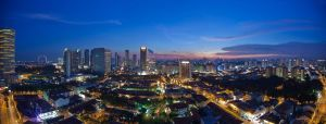A night at Singapore by archlover