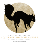 Squirrel Shadow Puppet by mimetalk
