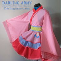 Pinkie Pie MLP Cosplay Kimono Dress by DarlingArmy