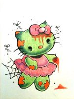 Zombie Hello Kitty Flash by Jameson-le-Strange