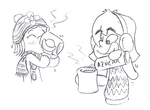 More hot chocolate by megawackymax