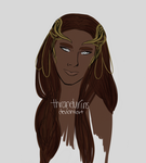 Meredhris, Queen of Greenwood by thrandurin
