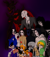 Creepypastas by TerryRed