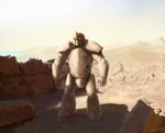 The Golem Of Clay by Valhelsing2