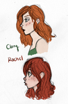 Clary vs Rachel by wondernez