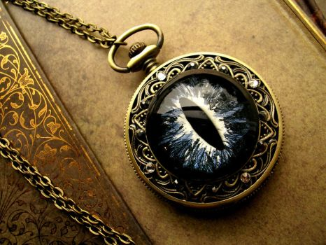 Universe and Stars Pocket Watch by LadyPirotessa
