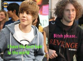 Praise the fro, not the Bieber cut! by The-MCR-Fan-Club