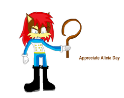 Appreciate Alicia Day Contest Drawing by DarkCatTheKhajjit