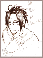 6.- Sketch for Dai-Elric by shiiro-chan