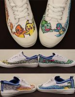 Pokemon Shoes by camriess