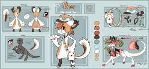 Bagbean Character Sheet - Piper by ClutterCluster