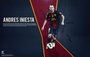 Andres Iniesta by suicidemassacre16