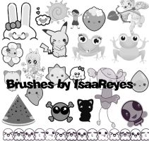 Cute brushes by Reyess