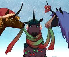 On the Tenth Day of Christmas by Queerly