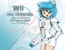Ms. Nintendo Wii by animefuzz