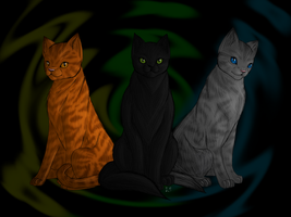 Warrior Cats - The Power of Three by fluffylovey